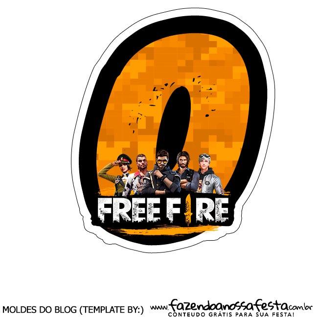 Numero 0 Free Fire