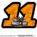 Numero 11 Free Fire