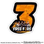 Numero 3 Free Fire