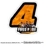 Numero 4 Free Fire
