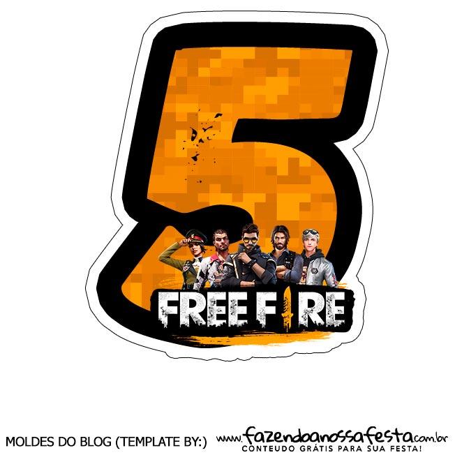 Numero 5 Free Fire