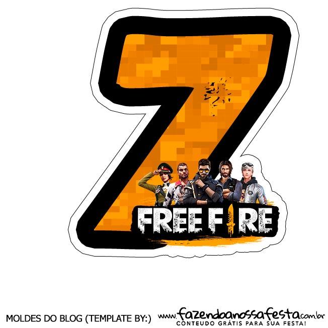 Numero 7 Free Fire