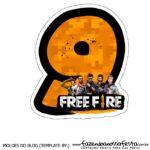 Numero 9 Free Fire