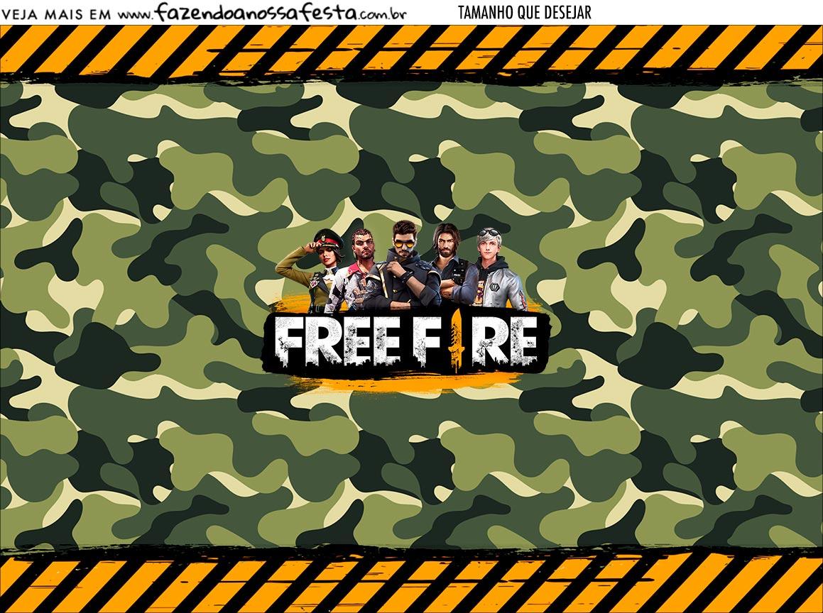 Personalizado Free Fire