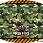 Placa Elipse Free Fire