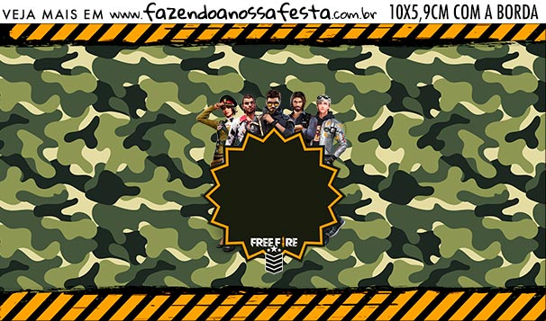 Rotulo Squeezer Free Fire