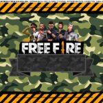 Saia de Bolo Free Fire
