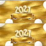 Saia de bolo Ano Novo 2021