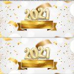 Saia de bolo Ano Novo 2021 3