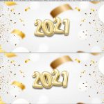 Saia de bolo Ano Novo 2021 4