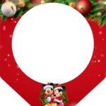 Bandeirinha Varalzinho Natal Mickey e Minnie