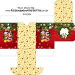 Caixa Baleiro Natal Mickey e Minnie