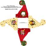 Caixa bombom personalizada Natal Mickey e Minnie