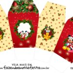 Caixinha China in Box Natal Mickey e Minnie