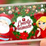 Convite Animado Natal Gratis
