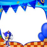 Convite Festa Sonic