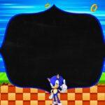 Convite Sonic editavel