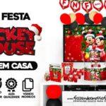 Kit Festa Natal Mickey e Minnie