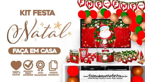Kit Festa Natal para Imprimir