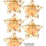 Molde Estrela de Natal Acrilica Biscoito