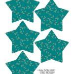 Molde Estrela de Natal Acrilica Verde
