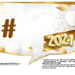 Plaquinha Ano Novo 2021 10