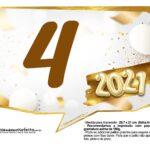 Plaquinha Ano Novo 2021 12