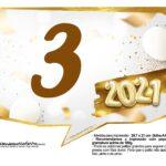 Plaquinha Ano Novo 2021 13
