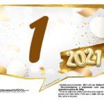 Plaquinha Ano Novo 2021 15