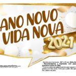 Plaquinha Ano Novo 2021 18