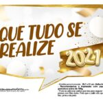 Plaquinha Ano Novo 2021 19