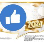 Plaquinha Ano Novo 2021 22