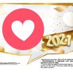 Plaquinha Ano Novo 2021 23