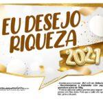 Plaquinha Ano Novo 2021 5