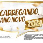Plaquinha Ano Novo 2021 6