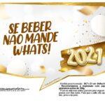 Plaquinha Ano Novo 2021 7