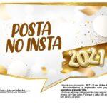 Plaquinha Ano Novo 2021 8
