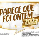 Plaquinhas Festa Ano Novo 2021