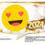 Plaquinhas Festa Ano Novo 2021 3