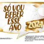 Plaquinhas Festa Ano Novo 2021 5
