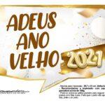 Plaquinhas Festa Ano Novo 2021 8