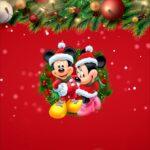 Printable Natal Mickey e Minnie