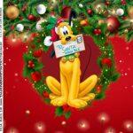 Rotulo Caixa Acrilica Natal Mickey e Minnie