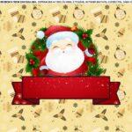 Saia de bolo Papai Noel 2