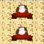 Saia de bolo Papai Noel 3