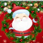 Saia de bolo Papai Noel 4
