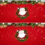 Saia de bolo Papai Noel 5