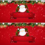 Saia de bolo Papai Noel 6