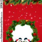 Tag Kit Festa Natal Mickey e Minnie