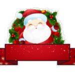 Topo de bolo Papai Noel